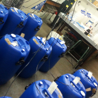 Microcosms used during the degradation experiment for the PROCARDYA project