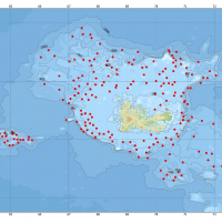 Carte des stations de chalutage prévues pour POKER 4 (septembre 2017) aux îles Kerguelen.