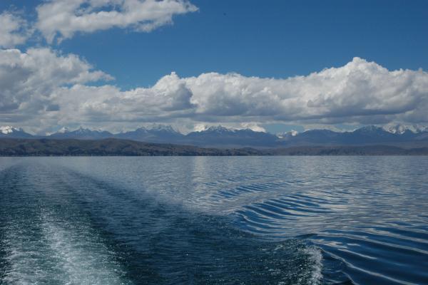 Paysage du lac Titicaca © IRD/Jégu, M.